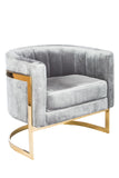 J-110G-Mica Gold Club Chair
