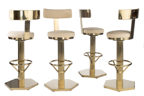 J 112 Oscar Gold Bar Chair Statements By J