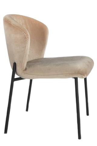 J-116LAT-Jamie Dining Chair in Latte
