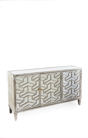 RA2354-Nicoletta Mirrored Sideboard