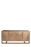 KFH10799-Cleo Spike Elm Wood Sideboard