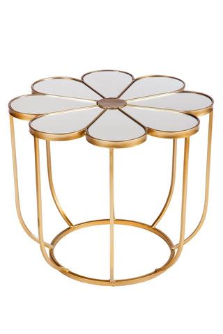 L170588-Fleure Mirrored Coffee Table