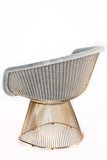 LC-2101GRY-Lulu Platner Lounge Chair