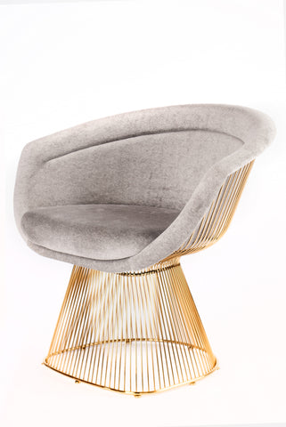 Gold Platner Chair