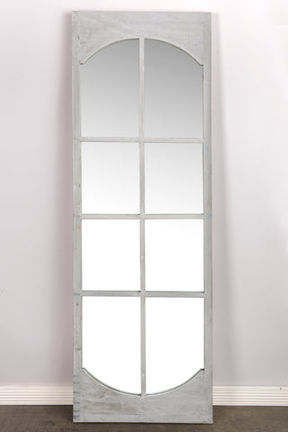 LS22445G-Josen Floor Mirror in GRAY-LOCAL PICK UP ONLY