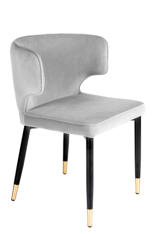 MC110-GRY-Kayla Upholstered Dining Chair in Gray