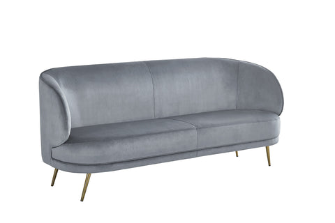MC156S-3GRY-Carrie Sofa in Gray