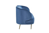 MC156S-3-Carrie Sofa in Blue