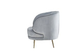 MC156S-GRY-Carrie Accent Chair in Gray