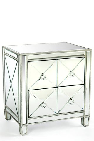 MF023-Liora Mirrored Nighstand