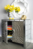 MF1022-La Croisette Mirrored Cabinet