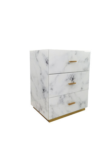 MF191102-Lyla White Nightstand