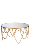 MJ1016-Bella Mirrored Coffee Table