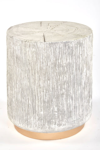 MJ1325-Oro Log Side Table /Stool