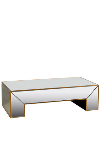 MXFU089-Lola Mirrored Coffee Table