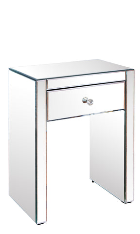MXFU738-Lyla Mirrored Nighstand