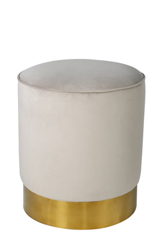 Oob3140gry Paulette Gray And Gold Stool Statements By J