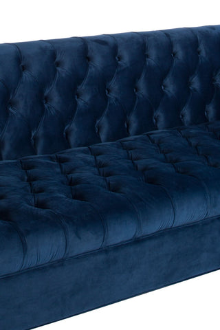 Osf1137snb Harper Tufted Sofa In Navy Blue Statements By J