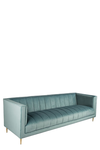 OSF1147SF-Scallop Sofa in Seafoam