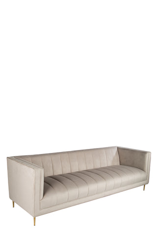 OSF1147G-Scallop Sofa in Gray