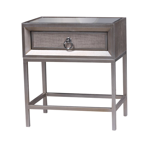 RH2566-Cassidy 1 Drawer Nightstand