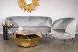 SK1981-Bijou Gold Coffee Table