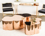 S5110-Luca Gold Coffee Table