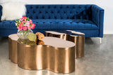 S5110-Luca Coffee Table in Rose Gold