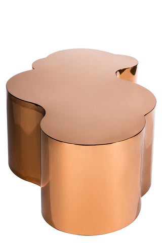 PRE-ORDER-S5111-Kate Coffee Table in Rose Gold