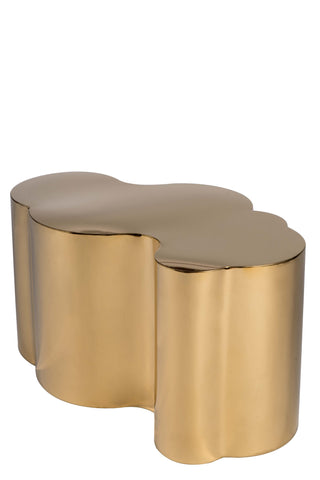 S5111G-Kate Coffee Table in  Gold-PRE-ORDER