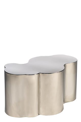 S511S-Kate Coffee Table in Silver