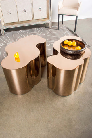 S511-Kate Gold Coffee Table