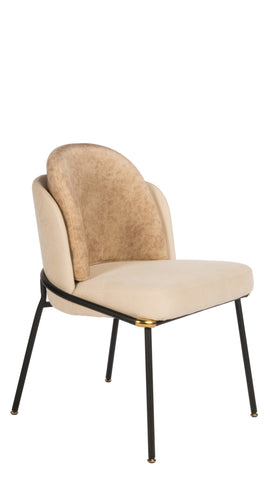 SUM-48BG-Baron Dining Chair in Beige