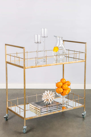 T-1110-Carrie Bar Cart