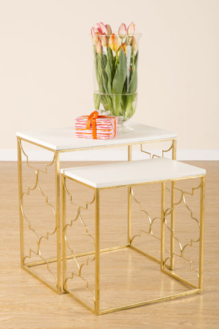 T119- Set/2 Lucia Nesting Table
