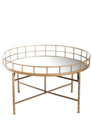 T2339-Ariella Mirrored Coctail Tables