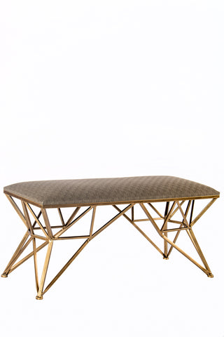 TX61272-A-Carly Gold Bench