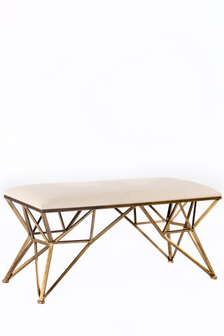 TX61272-B-Maddison Gold Bench