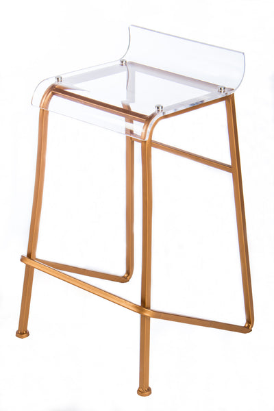 W160507 30 Acrylic Counter Chair Statements By J