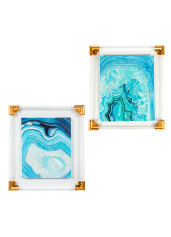 YLX571R-Set of 2 Agate Wall