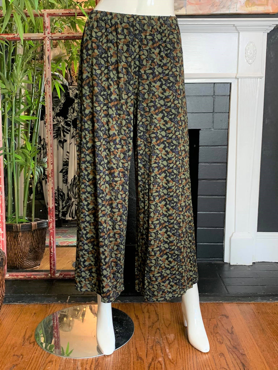 2122 Cropped Pant Fall Leaf