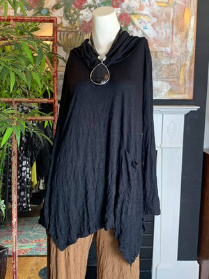 C23672 Filis Tunic-Black