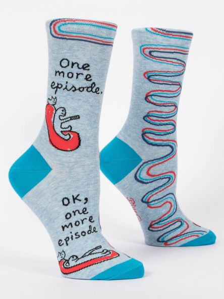 Blue Q's Crazy Talk Socks