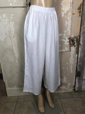 7554 Flood Pant- White