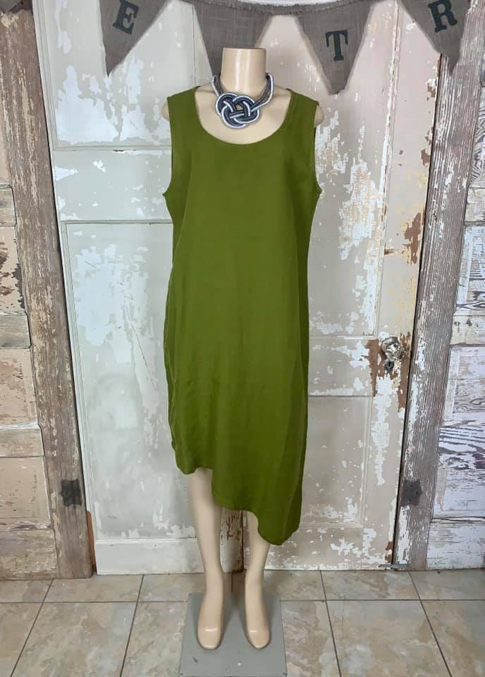 1724 Euna Dress- Safari