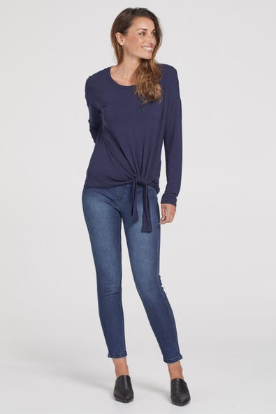 56410 AUDREY PULL-ON ANKLE JEGGINGS