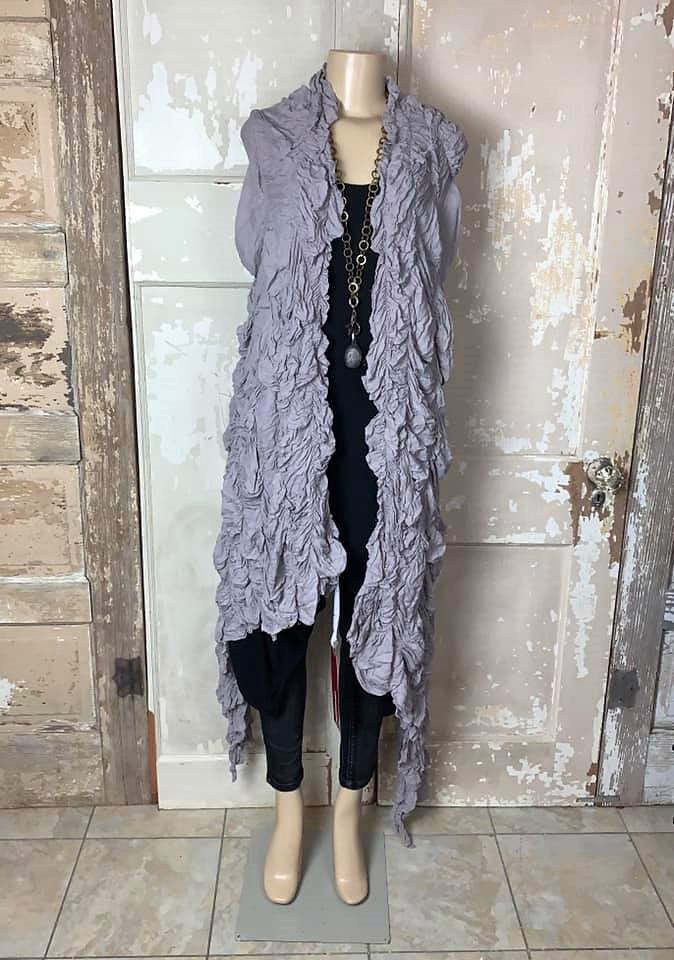 Ramenlight Shawl-Grey