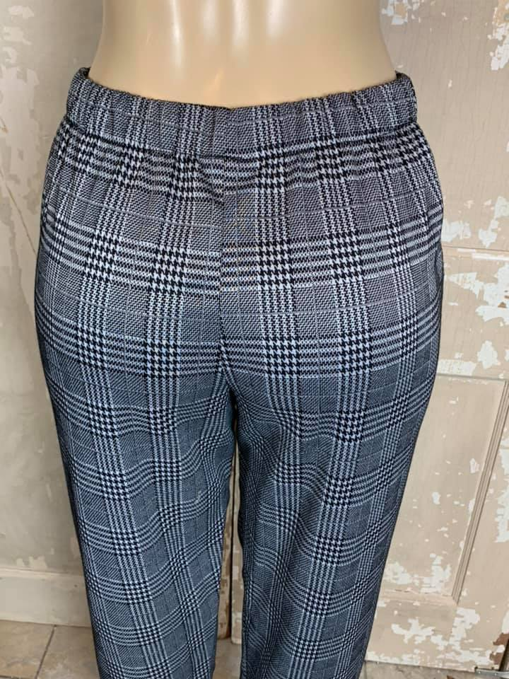 Beth Glen Plaid Pant