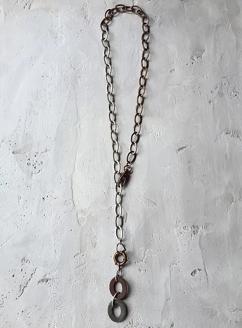 NE14 Mixed Metal Necklace