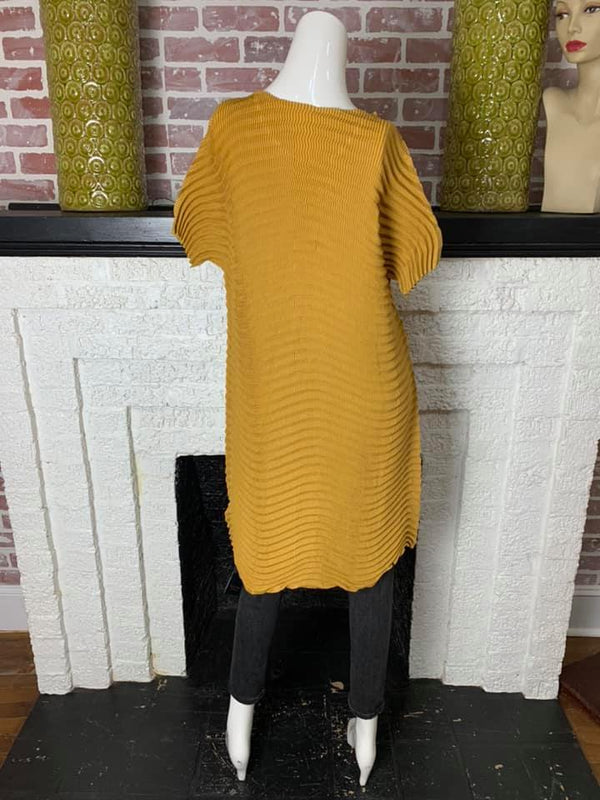 87536 VC Blouse/Dress-Mustard